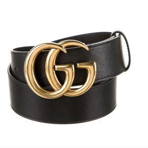 Gucci Marmont Belt Black Size XS